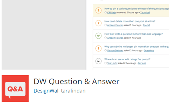 DW Question Answers